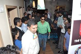 Sachin Tendulkar At The Promotion Of Cafe Coffee Day