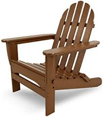 amazon com amish made polywood folding adirondack chair