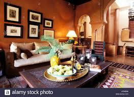 wohnzimmer der dar tamsna hotel residence villa des