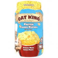 oat king protein mug cake powder mix 500g can bike24