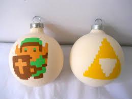 triforce l diy legend of link and triforce painted ornament set