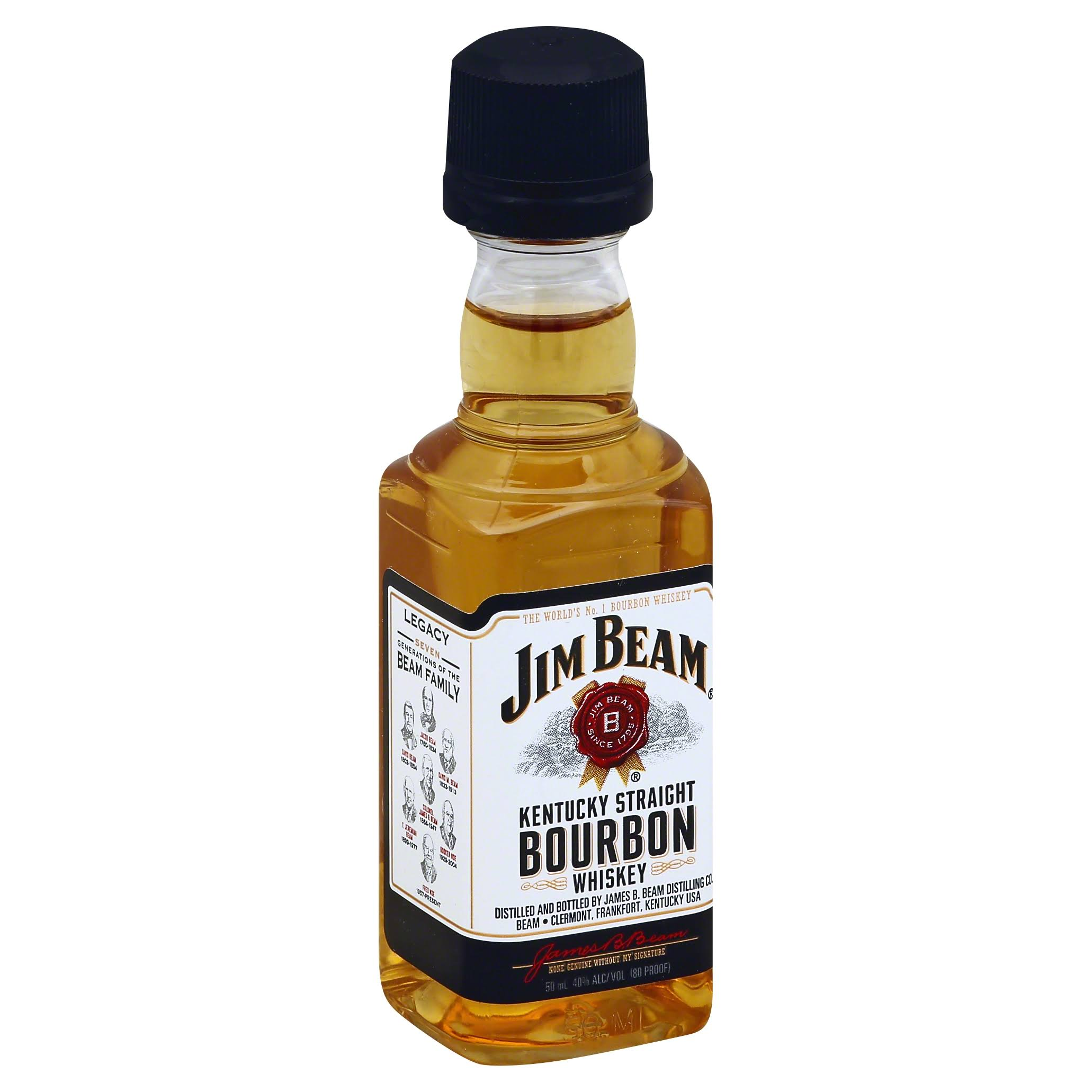 Jim Beam Bourbon Whiskey - 500ml