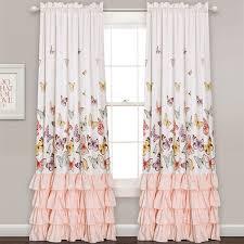 Boscovs Blackout Curtains by Lush Décor Flutter Butterfly Curtain Panels Boscov U0027s