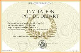 photo collection invitation pot de depart