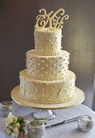 White Chocoalte Ganache Lace Wedding Cake