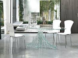 Round Glass Dining Room Table Enhance Your Kitchen With Some Best Sets