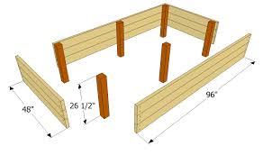 build platform bed with storage plans woodworking design furniture