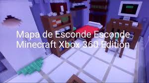 Minecraft Xbox 360 Living Room Designs by Mapa De Esconde Esconde Minecraft Xbox 360 Edition Youtube