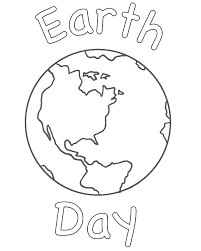 Earth Coloring Pages Day