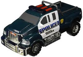 Amazon.com: Tonka Rescue Force Police Pickup: Toys & Games