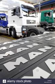 100 Signs For Trucks Company Logo Signs For Trucks With A Driving Cab Manufacture Stock