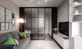 100 Interior Sliding Walls 3 Modern Studio Apartments With GlassWalled Bedrooms