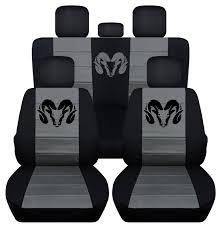 Amazon.com: 2012 To 2017 40-20-40 Dodge Ram Seat Covers Black And ... Truck Seat Covers For Dodge Ram Blue Black W Steering Whebelt Fia 2015 Wrangler Series Realtree Camo Perfect Fit Guaranteed 1 Year Warranty Katzkin Black Leather Int Seat Covers Fit 22017 Dodge Ram Crew Car Suppliers And 2018 New 2500 Truck 149wb 4x4 St At Landers Serving Mega Cab Leather Interior Kit Lherseatscom Youtube 6184574_orig 2013 1500 Max4 Front Row Steelcraft Chr7040tn Tan Radoauto