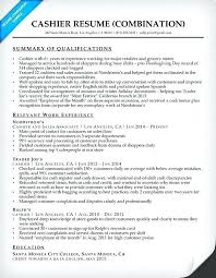 Cashier Resume Examples 2016 Also Sample Best To Prepare Inspiring