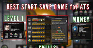 Best Start Save Game (with Money And Skills) For Last Version ...