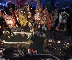 Dept 56 Halloween Village by Halloween Village Display Department 56 Halloween Display Huge