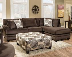 featured friday groovy chocolate two piece sectional sofa
