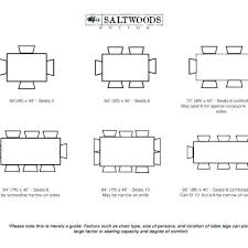 Standard Kitchen Table Sizes Dining Dimensions For 6 Persons Rh Coiffuremilonggood Info Size Of A 12 Person