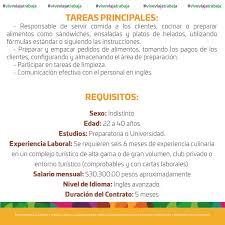 BOLSA DE TRABAJO Asociacion De Hoteles De Cancun