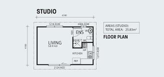 100 One Bedroom Granny Flats Studio Granny Flat Cabin Backyard Shacks Ranbuild