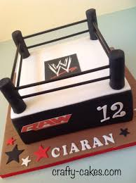 Wwe Diva Room Decor by Wwe Wrestling Ring Cake By Crafty Cakes Com Cake Decorations