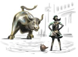 After Charging Bull Fearless Girl And Pissing Pug