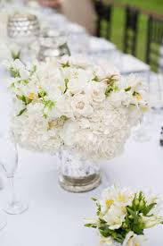 White Centerpiece By Passion Roots