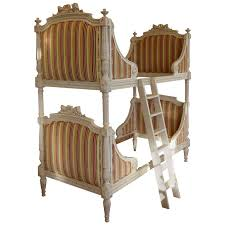 Louis XVI Style Bunk Beds Matching Pair of Single Beds For Sale at