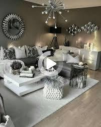 schwarz und silber wohnzimmer dekor pin haleigh barfield