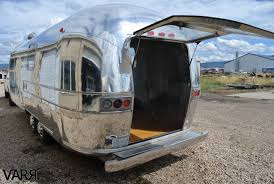 100 Airstream Trailer Restoration RESTORATION 1976 Sovereign Office VARR