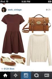 Shoes Burgundy Oxfords Cute Vintage Fall Outfits Winter Lovely Hipster White Dress Sweater