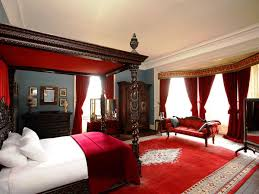 Black And Red Room Decor Ideas White With Color Accents