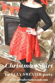 How To Make Skirt From Tree Holiday