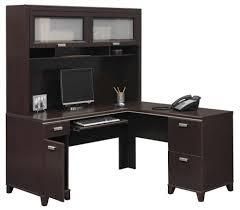 Bush Vantage Corner Desk Pure White by Fresh Australia Corner Desk With Hutch For Home Offi 18501