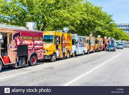 100 Philly Food Trucks Washington DC USA July 3 2017 Trucks On Street By