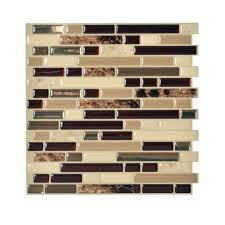 Smart Tiles Mosaik Multi by Peel And Stick Mosaic Tile Roselawnlutheran