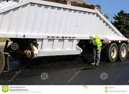 100 Belly Dump Truck Asphalt Stock Image Image Of Semi Belly Truck 52082641
