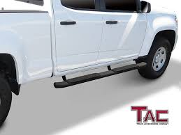 Amazon.com: TAC Side Steps For 2015-2018 Chevy Colorado / GMC Canyon ... Toyota Hilux Stainless Steel Side Bar Steps 2012 2015 Imob Auto Fiat Fullback Inox Tva Styling Nerf Bars Running Boards Installation Monmouth County Quality Amp Research Powerstep Truck Centex Tint And Accsories Carr Super Hoop Bully Black Bull Alinum Matte 7 Step 1 Amazoncom Smittybilt Dn230s4b Sure Gloss 3 Ici Magnum Rt Series 2017 Toyota Tacoma Limited 6 Bed Extang Encore Tonneau Cover Bedstep Pickup Truck Accsories Autoparts By Worldstylingcom