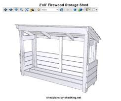 Plans To Build A Small Wood Shed by Firewood Shed Plans Wood Shed Plans Firewood Storage
