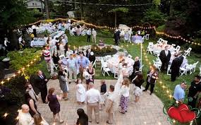 Someone s Home Backyard Best Tips for Planning a Small Wedding