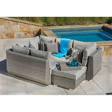 Sirio Patio Furniture Covers Canada by Sirio Urban Grey 4 Piece Patio Furniture Set Sectional Amazon
