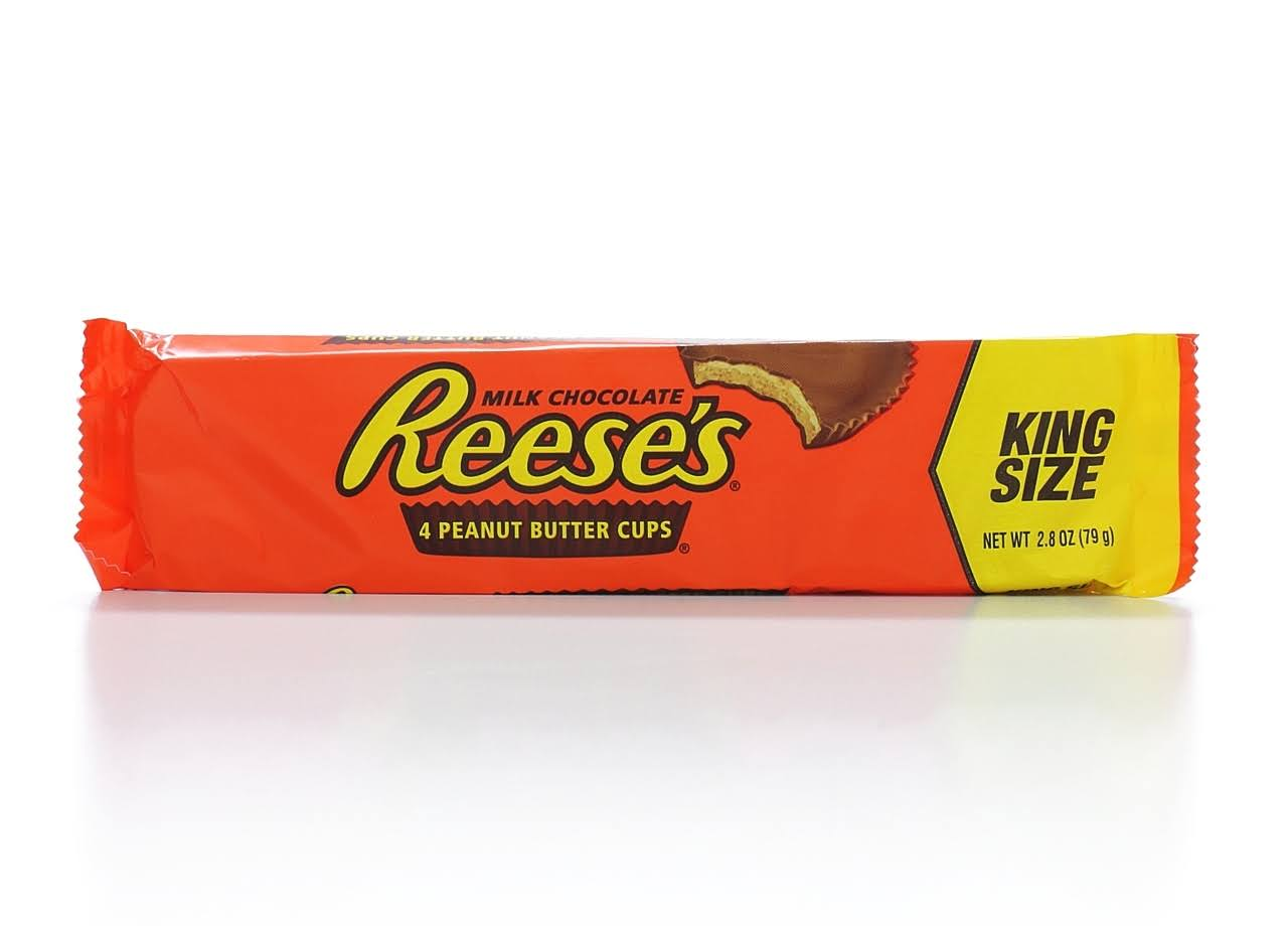 Reese's King Size Peanut Butter Cup - 4pk, 79g