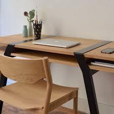 pied pour bureau pi16 paire de treteaux metal pour bureau deux niveaux design r fry