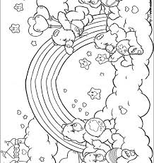 Carebear Coloring Pages The Care Bears