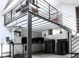 bureau loft industriel ancienne papeterie transformée en loft industriel en