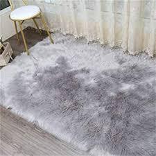 faux lammfell schaffell teppich 80 x 150 cm lammfellimitat