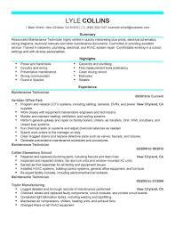 Maintenance Electrician Resume Template Archives - Simonvillani.com ...