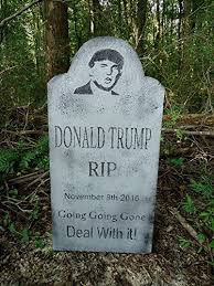 Funny Halloween Tombstones For Sale by Amazon Com Evil Soul Studios Donald Trump Rip Tombstone Halloween