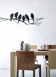 Birds On A Branch Wall Decoration With Decal
