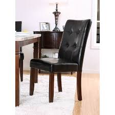 Terese Transitional Black Tufted Dining Chair (Set Of 2) By FOA Decor Ding Room Using Chic Tufted Chair Parsons Ding Best Choice Products Fniture Set Of 2 Parsons Modern Wood Linen Side Chairs And Bar Stools Contemporary Round Black Swivel Ausgezeichnet Grey Table Blue Roco English Queen Anne Inspirational 20 Unique Lexmod Regent Vinyl In With Nailheads Leather Jessica Charles Sebastian 1901t Images Galleries 8 Square Gina Velvet Of With Acrylic Legs By